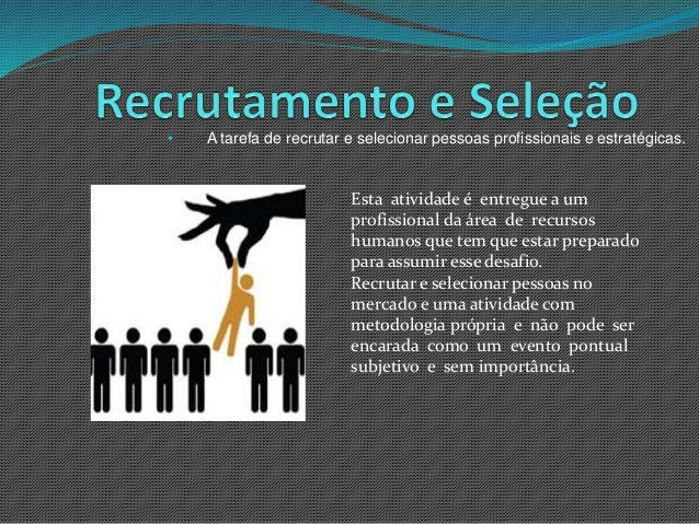 Artigo recrutamento e selecao