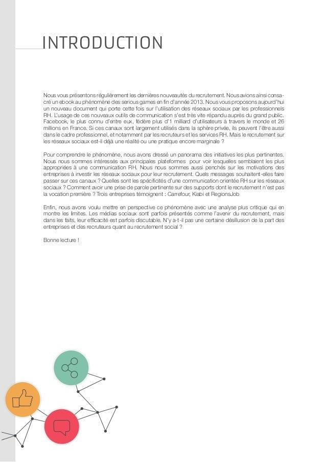 Recrutement innovant : Marque employeur & Réseaux sociaux Slide 3
