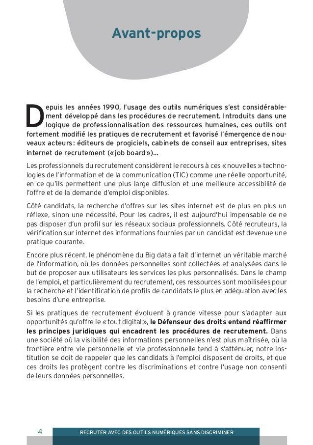 D fenseur des droits guide pratique pour les - Cabinet de recrutement communication ...
