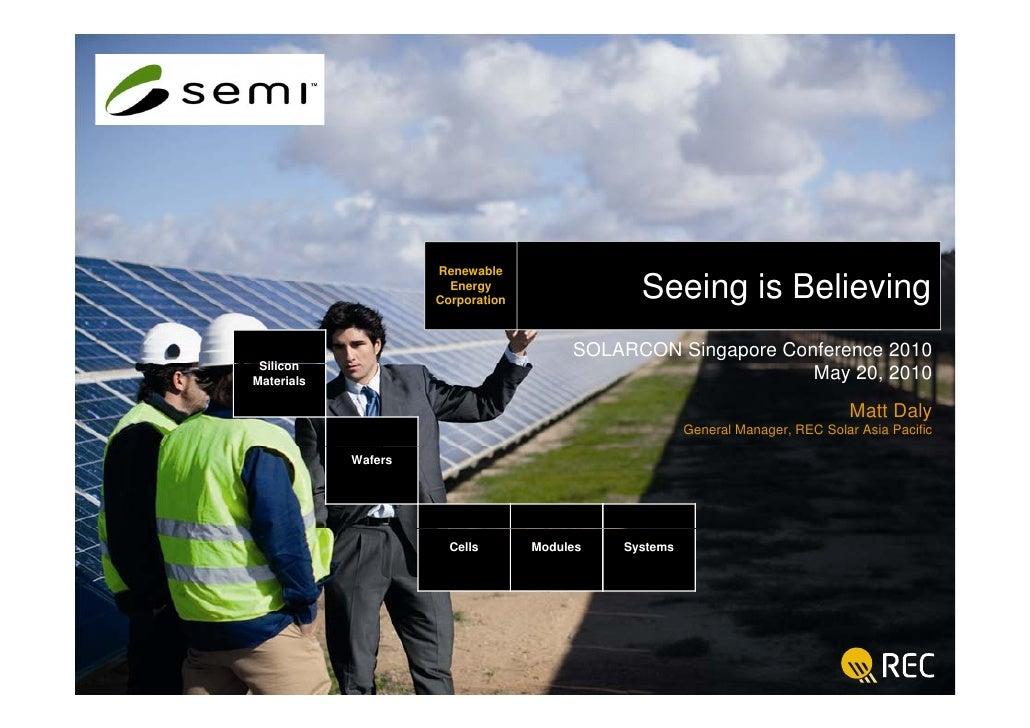 Renewable     REC                        Energy                                          Seeing is Believing              ...