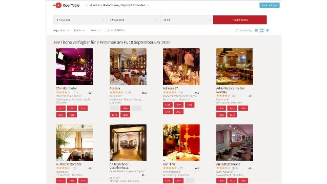 Recsys 2015: Making Meaningful Restaurant Recommendations at OpenTable Slide 2