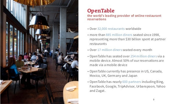 Recsys 2015: Making Meaningful Restaurant Recommendations at OpenTable Slide 3
