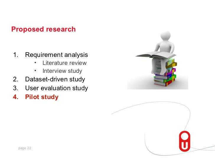 Proposed research1.   Requirement analysis           •   Literature review           •   Interview study2.   Dataset-drive...