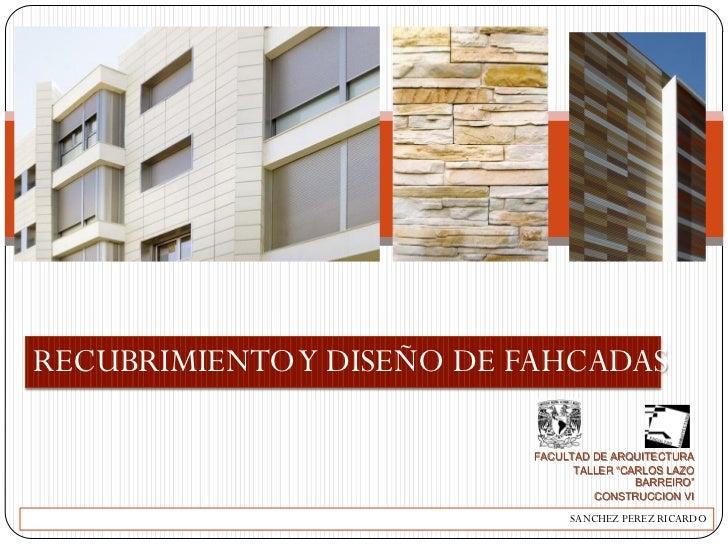 Recubrimientos y dise o de fachadas - Recubrimiento de fachadas ...