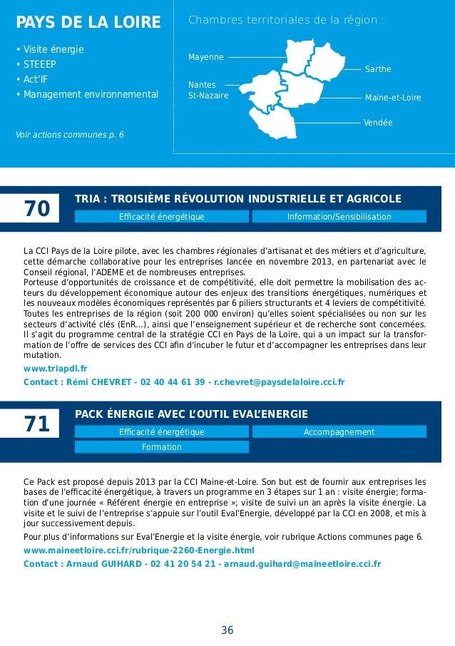 Cop21 climat et energie actions et solutions des cci - Chambre des metiers pays de la loire ...