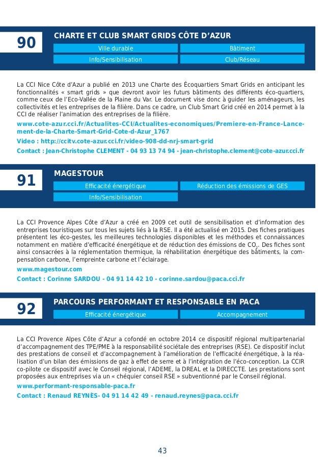 Climat Et nergie  Actions Et Solutions Des Cci De France