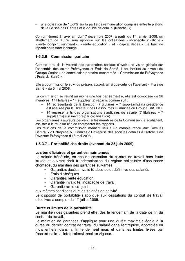 Recueilaccorddcfmiseajour aout 2014 - Plafond securite sociale 2008 ...