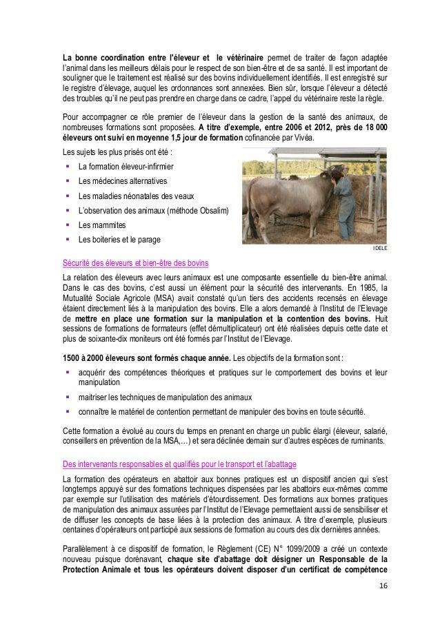 17  CA Creuse  correspondant aux espèces et à l'activité les concernant. Les filières françaises et l'administration se so...