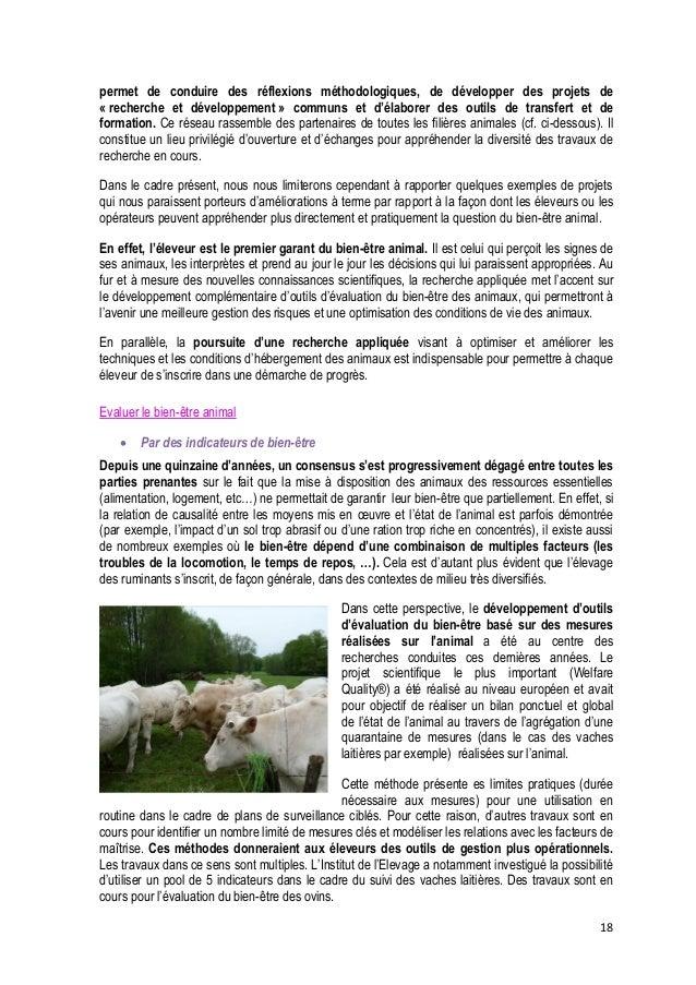 19   Demain, un « élevage de précision » : l'exemple du réseau DairyCare  Tous les congrès scientifiques sur le bien-être...