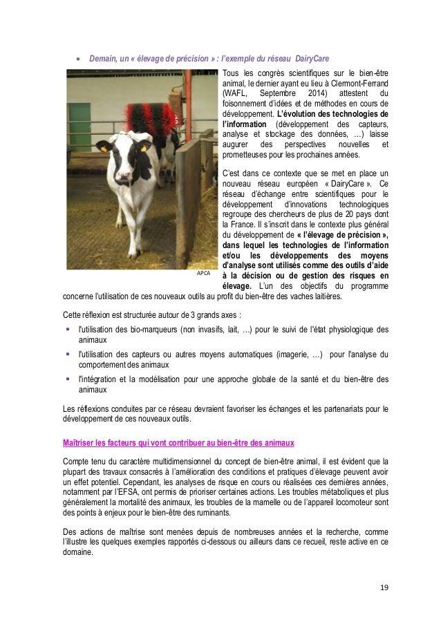 20   Améliorer la longévité des animaux  La mortalité des animaux, lorsqu'elle n'est pas le résultat d'une pathologie pon...
