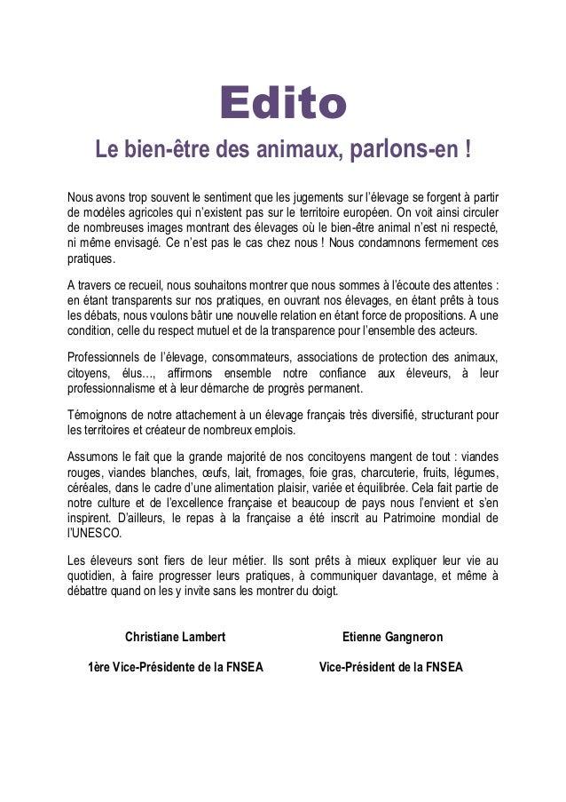 4  Introduction  A l'heure où l'animal est au coeur de nombreux débats médiatiques et propositions législatives, les éleve...