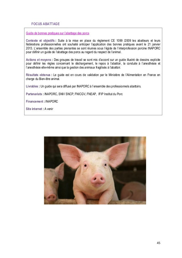 Bien-être animal - Recueil des actions des partenaires agricoles