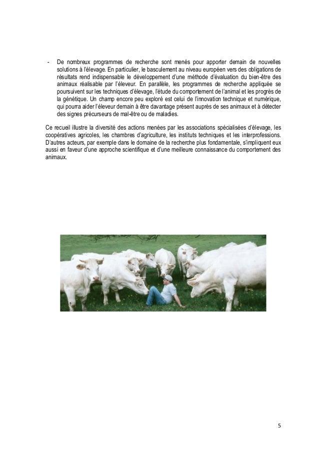 6  Sommaire  Edito Le bien-être des animaux, parlons-en ! ...................................................................