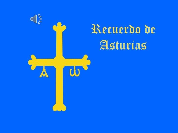 Recuerdo de Asturias