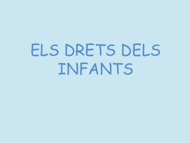 Recull sobre els Drets dels Infants_La Farigola del Clot Slide 2