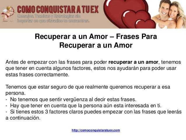 Best Imagenes Con Frases Para Recuperar Un Amor Perdido Image Collection