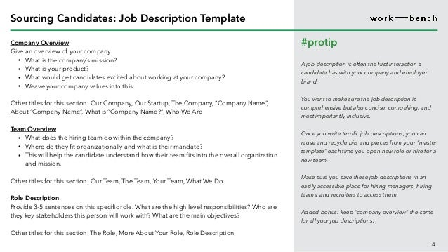 Startup Recruiting Workbook Sourcing And Interview Process