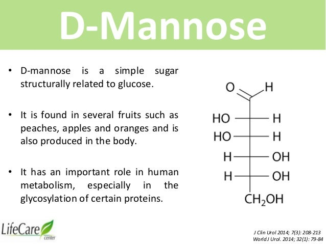 relationship between a d glucose and mannose urinary