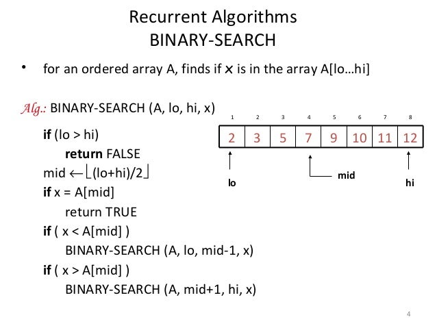 Binary search algorithm - Wikipedia