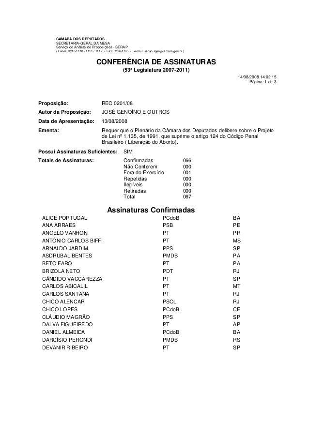 CÂMARA DOS DEPUTADOS SECRETARIA-GERAL DA MESA Serviço de Análise de Proposições - SERAP ( Fones: 3216-1110 / 1111 / 1112 -...