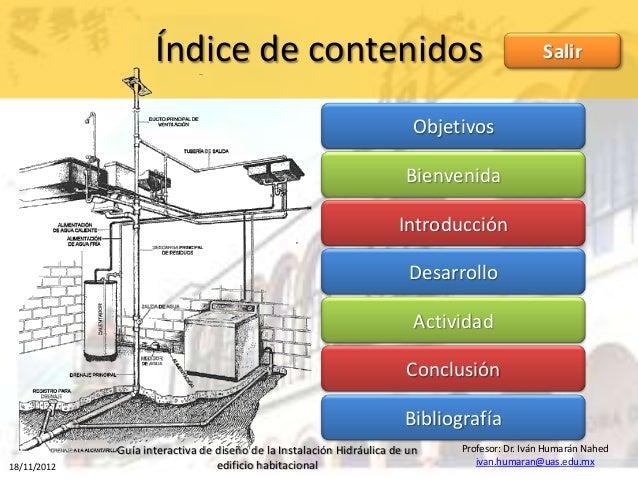 Recurso didactico de instalaciones hidraulicas for Planos de instalacion hidraulica de una alberca
