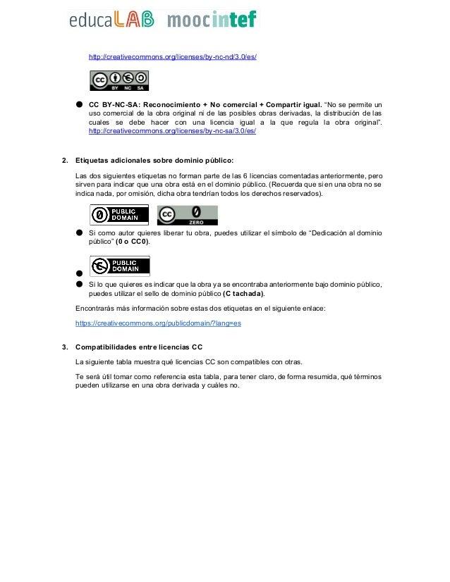 Acerca de las licencias Creative Commons (CC) Slide 2