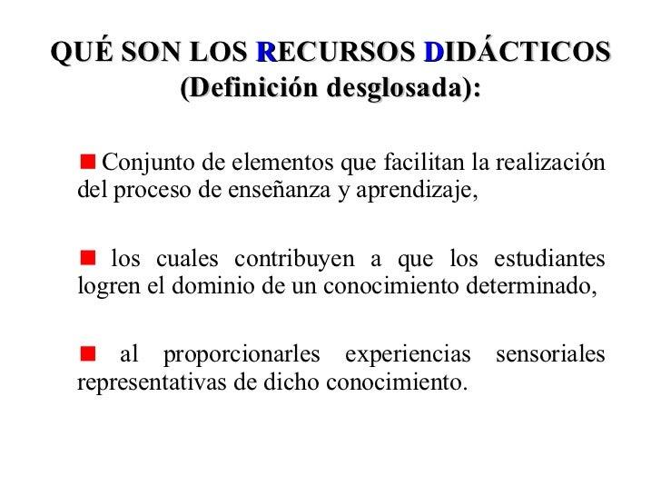recursos didcticos