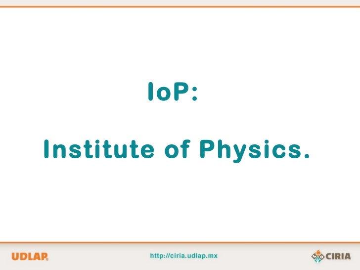 Recursos de información para física y matemáticas Slide 3