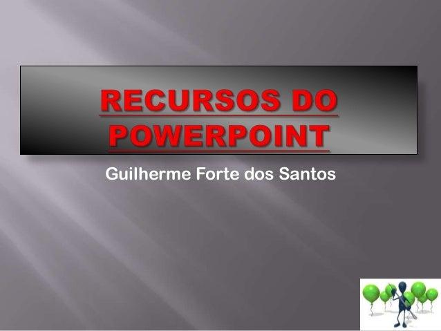 Guilherme Forte dos Santos