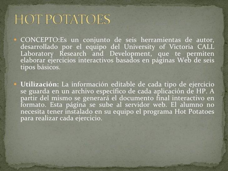 Recursos educativos en la web Slide 2