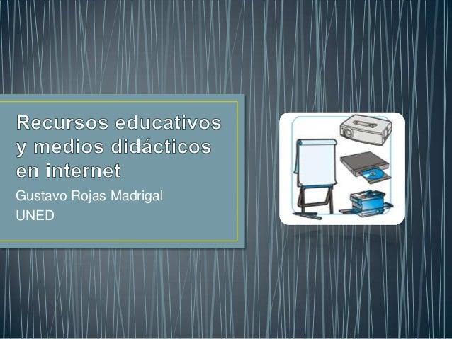 Gustavo Rojas Madrigal UNED