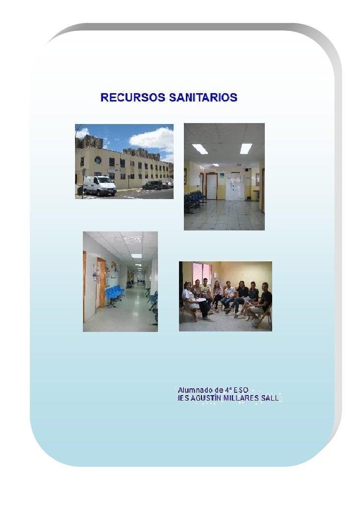 RECURSOS COMUNITARIOS DE JINÁMAR Y MARZAGÁN                                          Alumnos de 4º ESO. IES Agustín Millar...