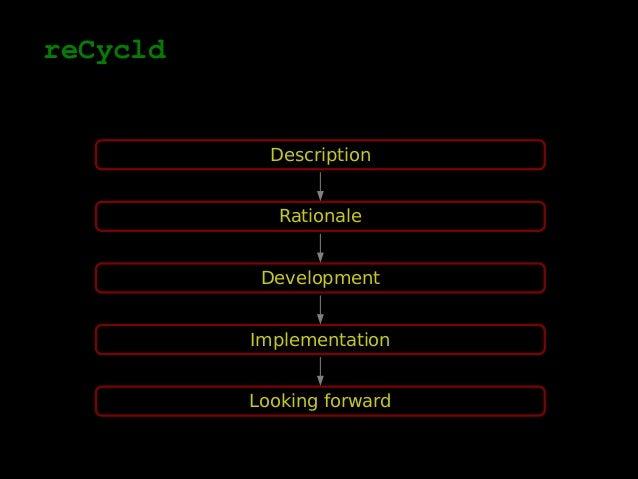 reCycld Slide 2