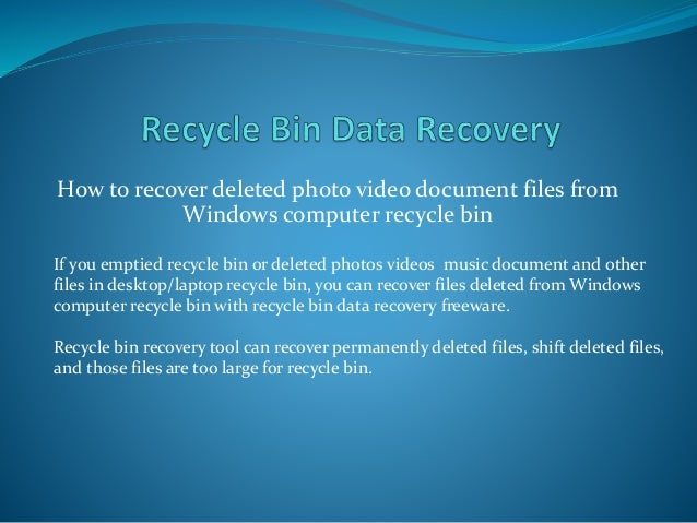 This Tool Can Recover Permanently Deleted Files In