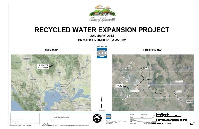 RECYCLED WATER EXPANSION PROJECT JANUARY 2014 PROJECT NUMBER: WW-0002 PREPARED BY  AREA MAP  CR O SS  R D  LOCATION MAP  Y...