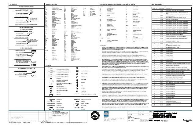 Recycled Water Project Draft Plans And Specifications