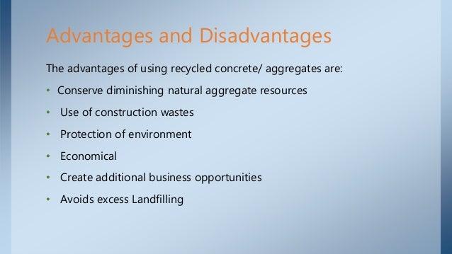 Advantages and disadvantages of building a