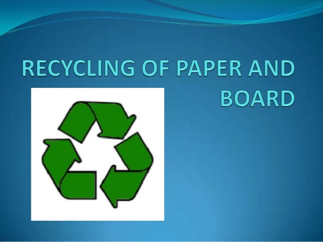 What? Why?  Convert wastes into reusable material.  Recycling is a form of reuse that requires changing or  reprocessing...