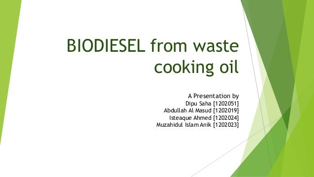 preparation of biodiesel from waste cooking Lithium silicate is one of the suitable heterogeneous catalysts for biodiesel  for  the production of biodiesel from waste cooking oil using lithium silicate as.