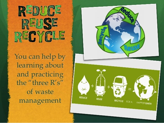 Recycle Remember the things you use every day that you can recycle!! — Aluminum cans — Cardboard — Electronics — Glass...