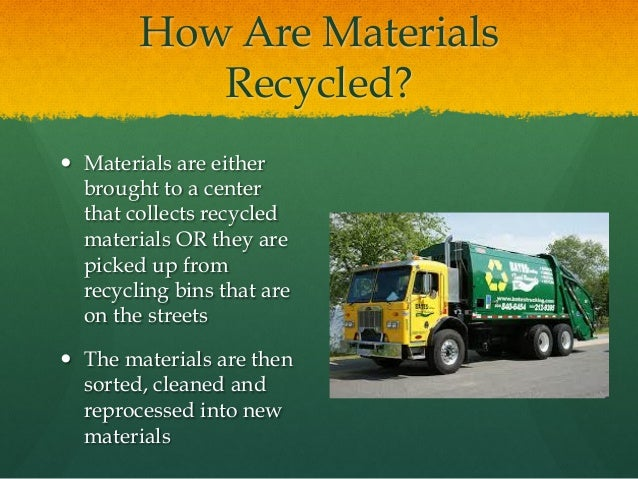 Discussion Questions 1. Why is recycling important to learn about? 2. How do you take part in the three R's of waste manag...