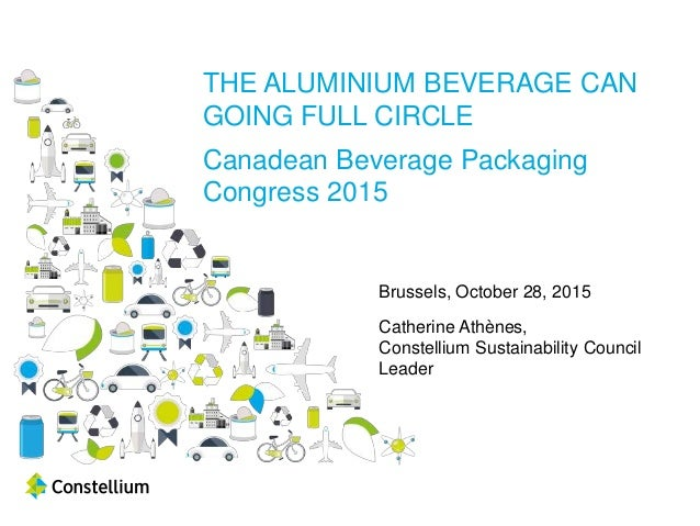 THE ALUMINIUM BEVERAGE CAN GOING FULL CIRCLE Canadean Beverage Packaging Congress 2015 Brussels, October 28, 2015 Catherin...