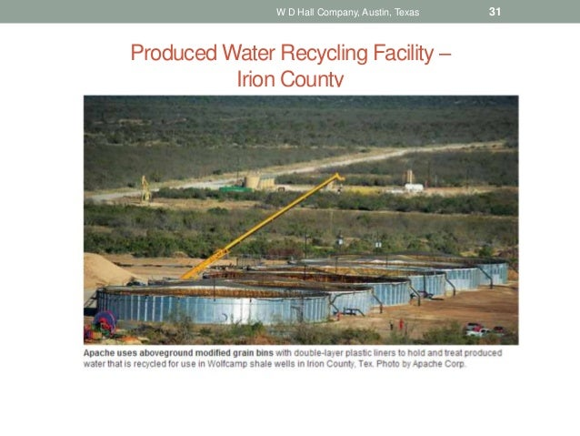 Recycling Produced Water And Brackish Groundwater In The