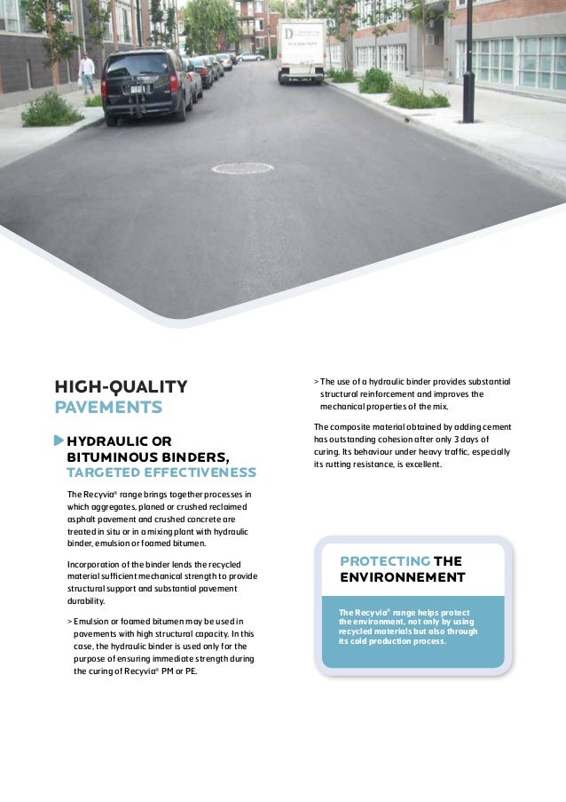 Recyvia® - Effective base Slide 3