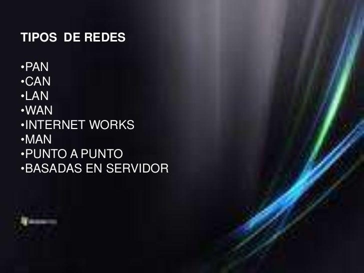 LANSon las redes que todos conocemos, son redes pequeñasque se utilizan en oficinas, por sus limitadas dimensionesson muy ...