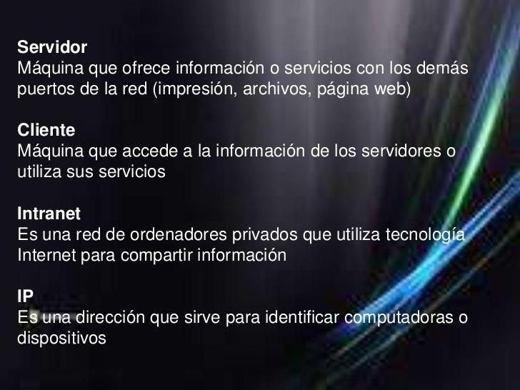 ELEMENTOS QUE SE UTILIZA EN UNA RED•Equipo de computo•Servidor•Estación de trabajo•Tarjetas de interface•Cableado•Sistema ...