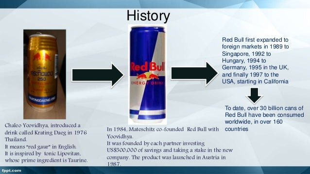 red bull global marketing strategy Even with such a dominant position in the energy drink market, red bull continues to  red bull's corporate strategy is to focus on promoting the athletes and events that they sponsor this reinforces the notion of red bull being a  according to a global study in 2011, red bull is leading the energy drinks market with a.