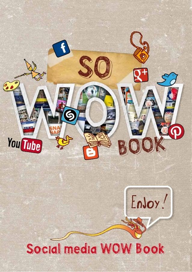 Social media WOW BookSOEnjoy!Bookf+