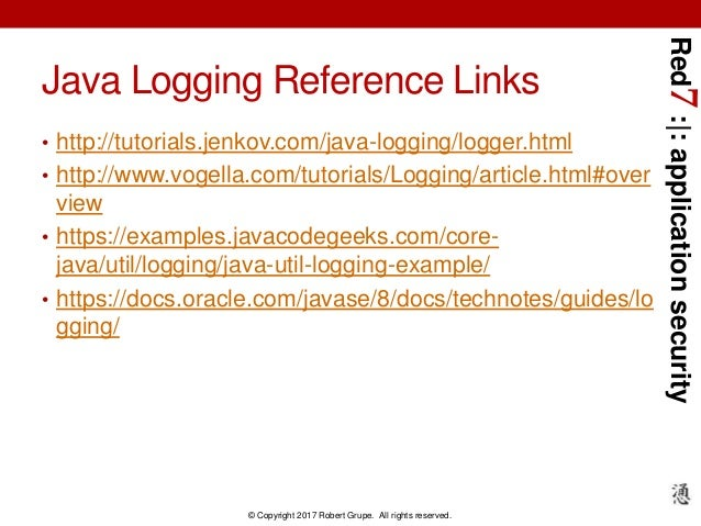 Application Security Logging With Splunk Using Java