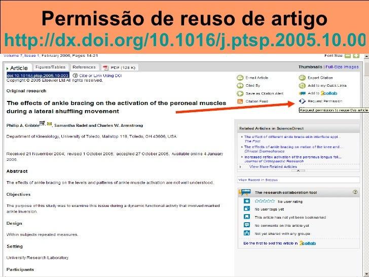 Permissão de reuso de artigo http://dx.doi.org/10.1016/j.ptsp.2005.10.003